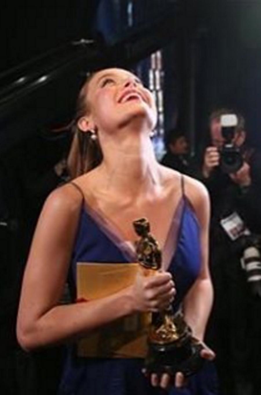 Brie Larson aux anges après sa victoire à l'Oscar de la Meilleure actrice