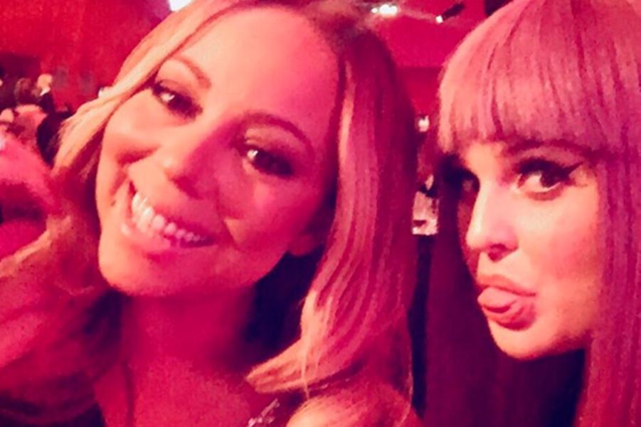 La diva Mariah Carey est prête pour le show