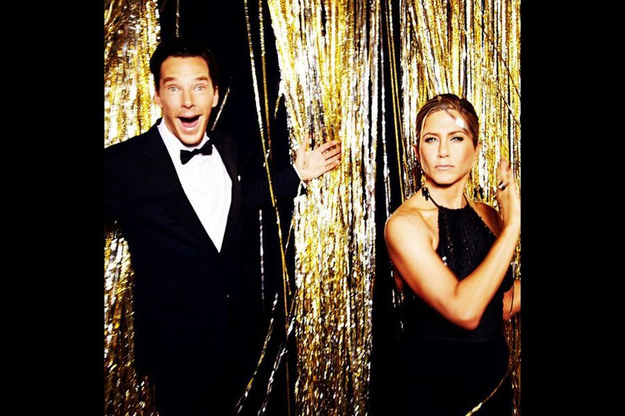 Benedict Cumberbatch et Jennifer Aniston