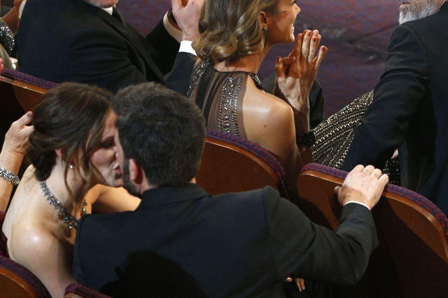 Jennifer Garner et Ben Affleck aux Oscars 2013.