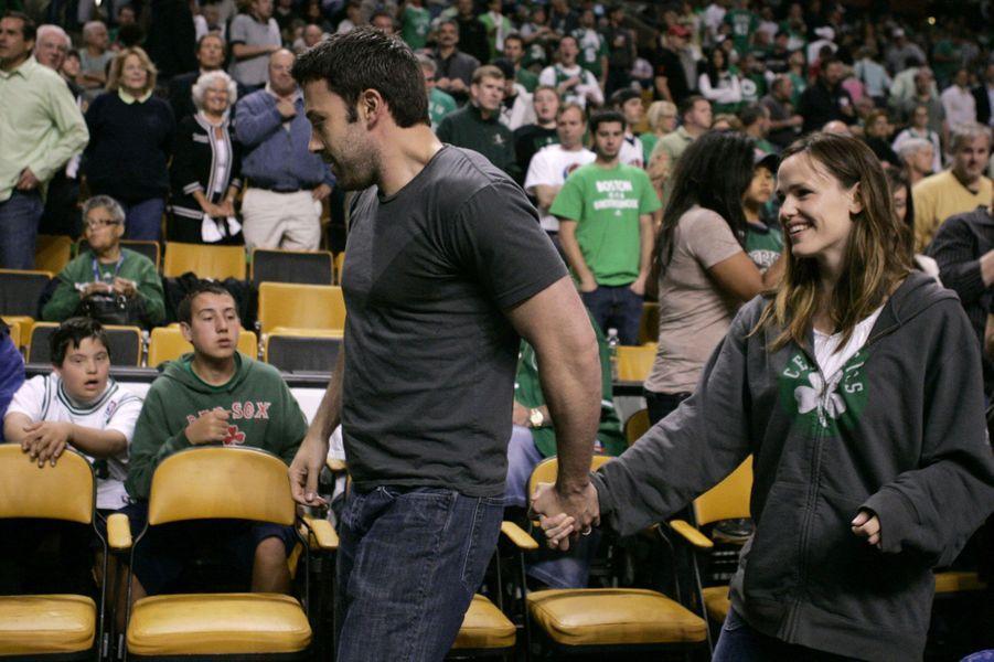 Jennifer Garner et Ben Affleck en mars 2009.