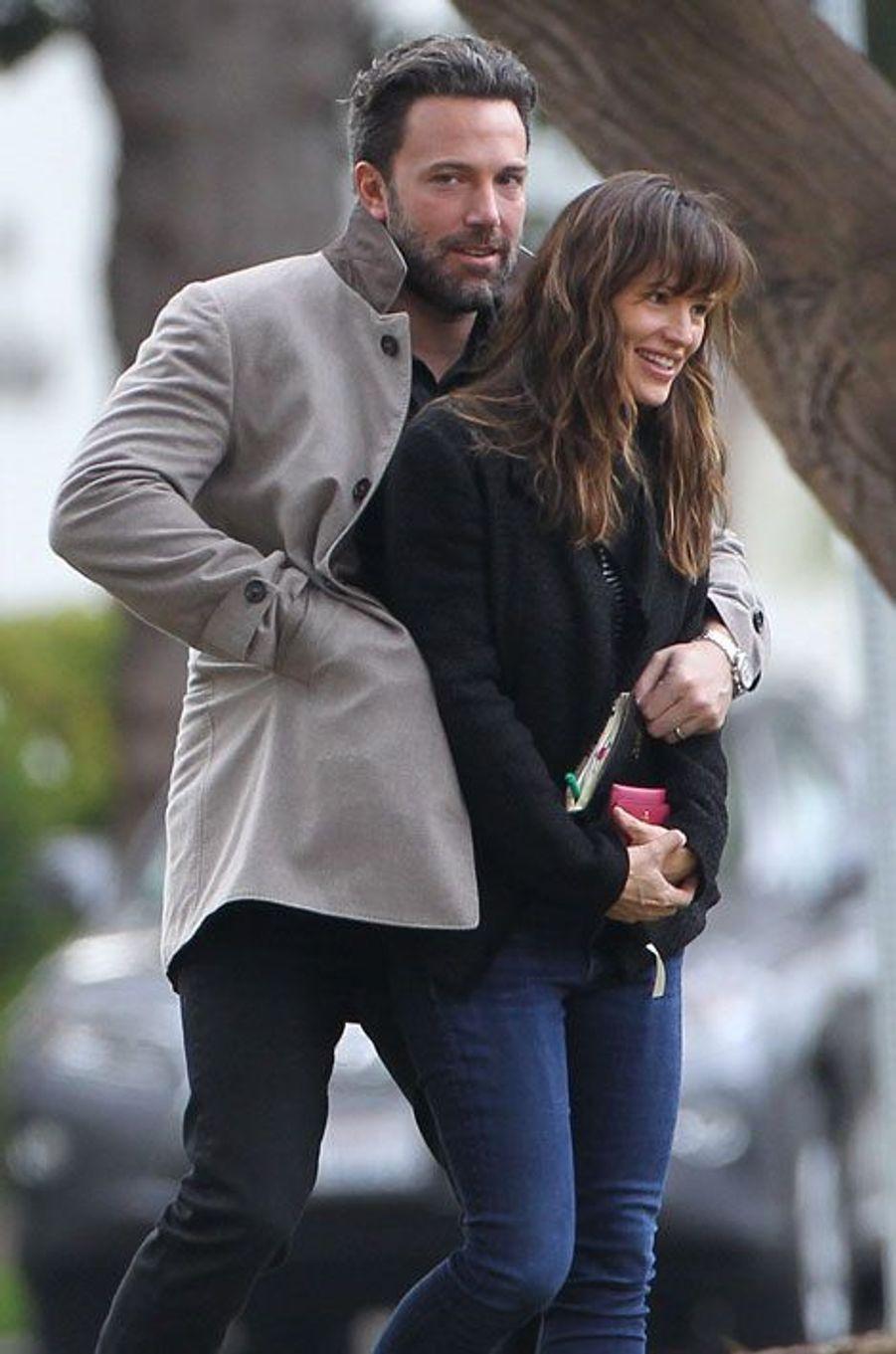 Jennifer Garner et Ben Affleck en 2015.