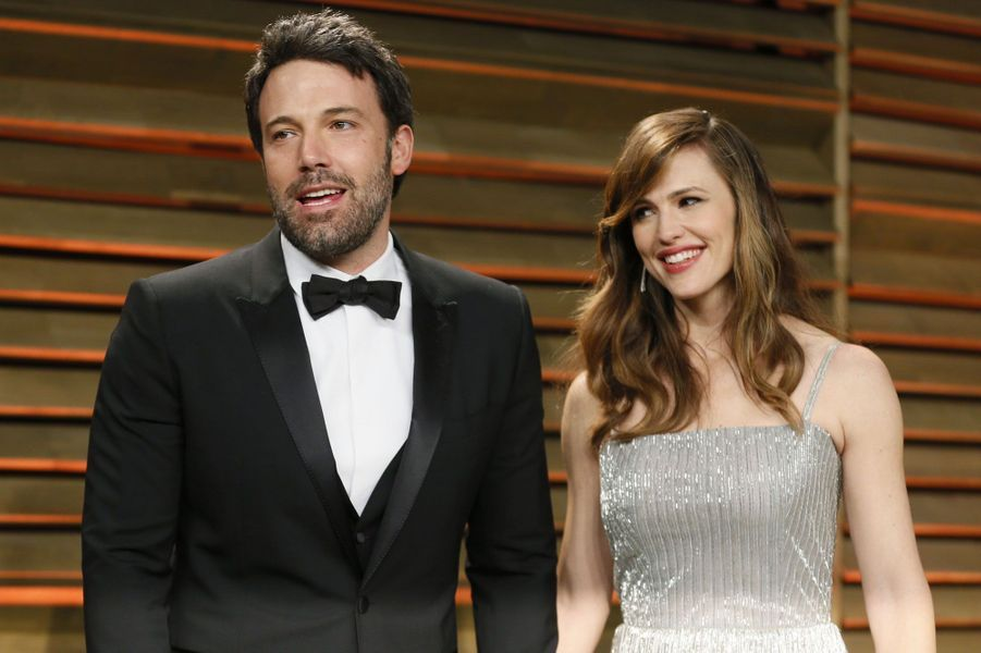 Jennifer Garner et Ben Affleck à la soirée des Oscars 2014.