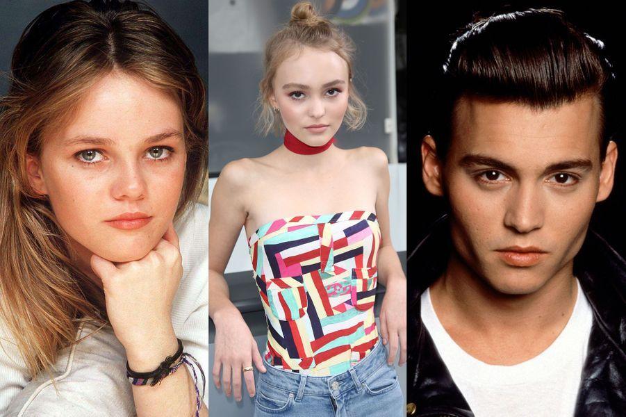 Lily-Rose Depp: la moue de sa mère, les yeux de son père