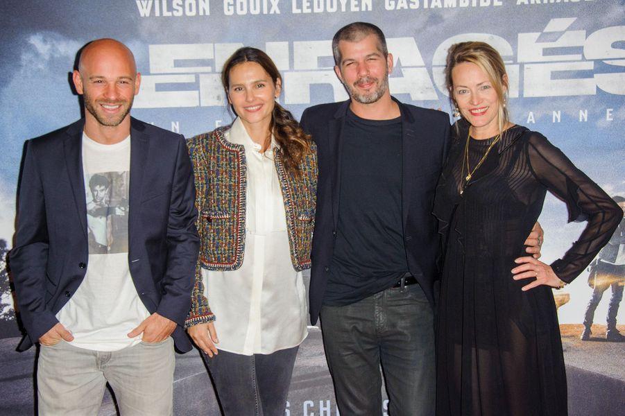 Franck Gastambide, Virginie Ledoyen, Eric Hannezo et Gabrielle Lazure