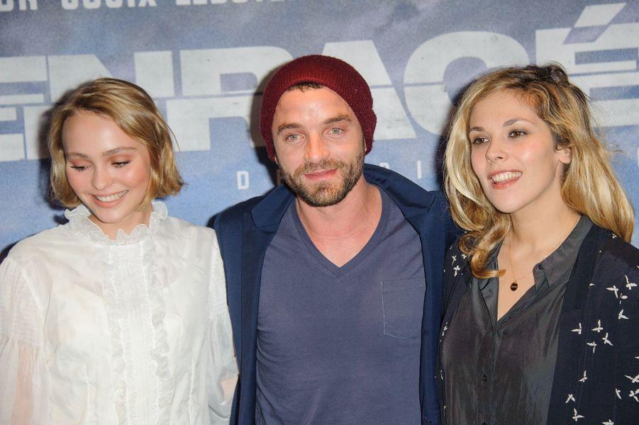 Lily-Rose Depp, Guillaume Gouix et Alysson Paradis