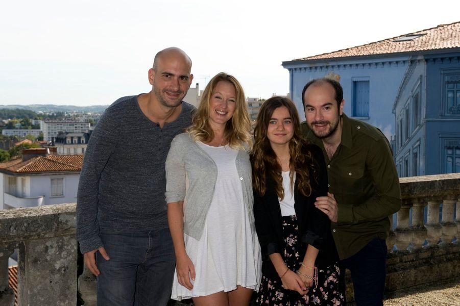 Julien Neel, Ludivine Sagnier, Lola Lasseron et Kyan Khojandi