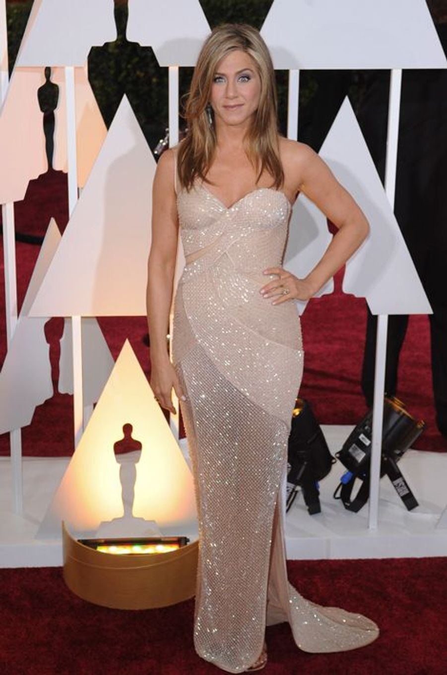 Jennifer Aniston en Versace