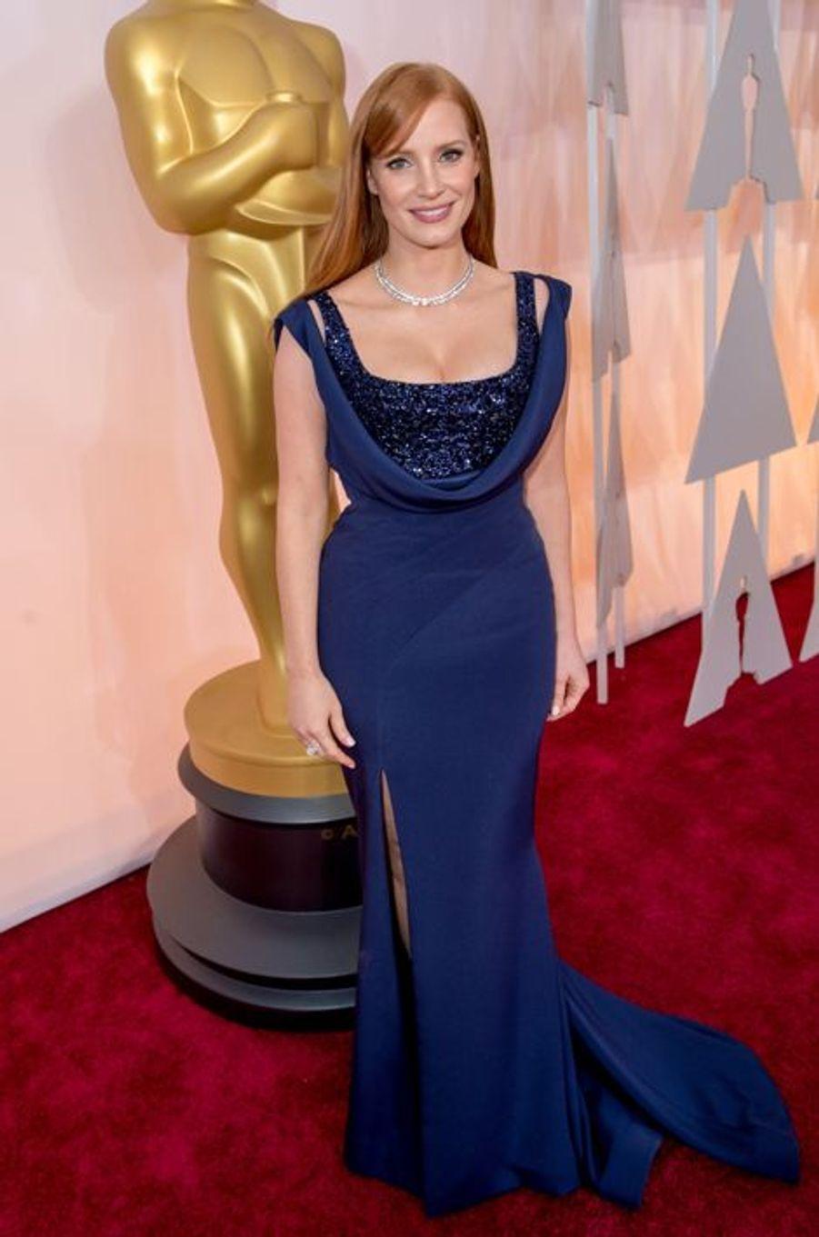 Jessica Chastain en Givenchy par Riccardo Tisci