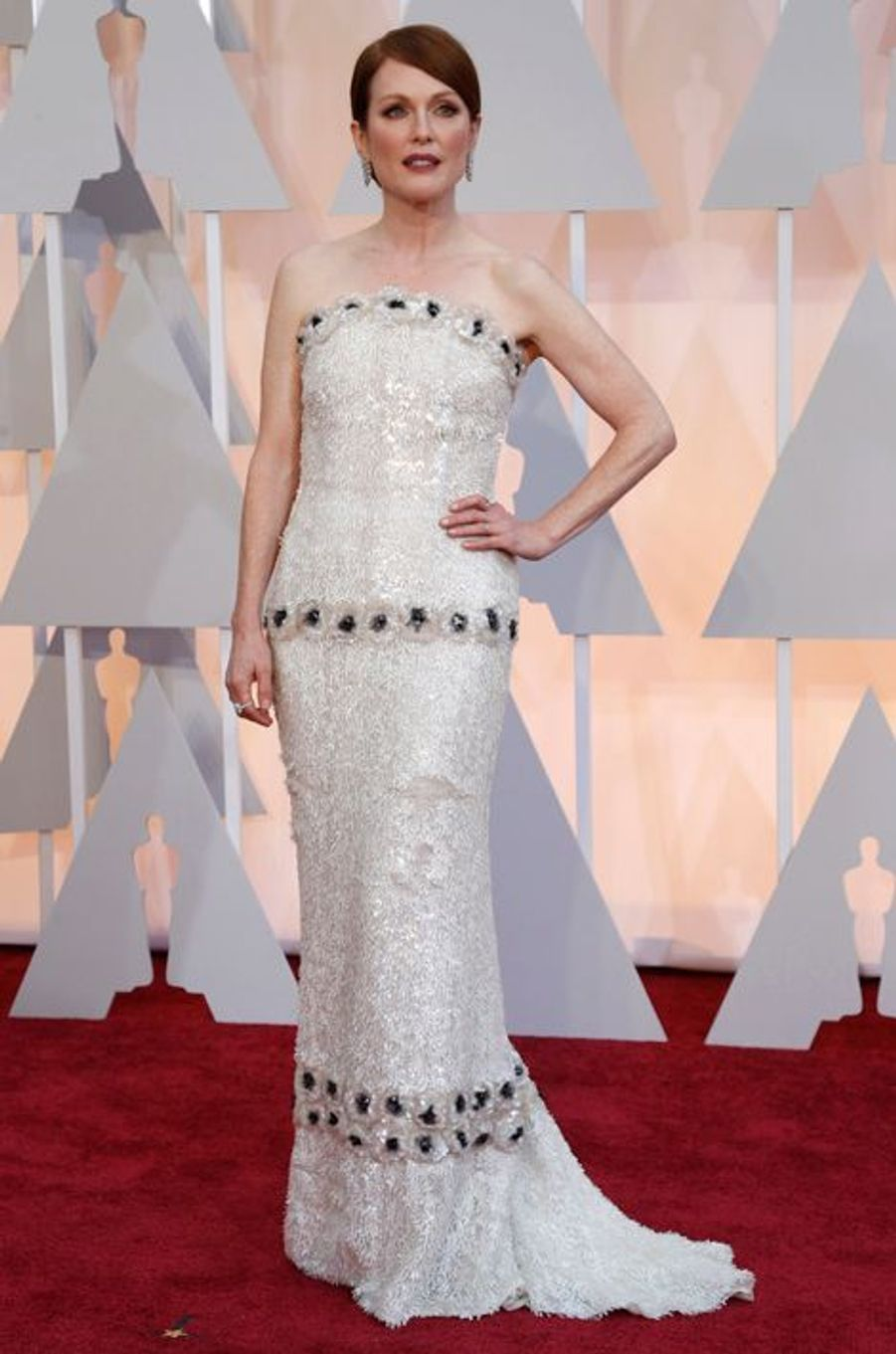 Julianne Moore en Chanel Couture