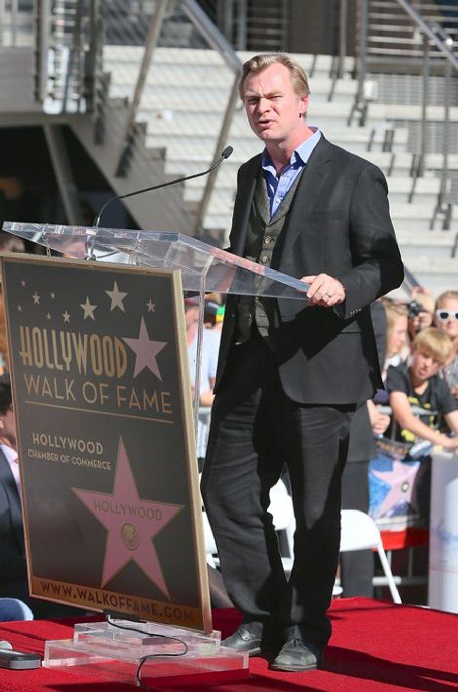 Christopher Nolan à Los Angeles le 17 novembre 2014