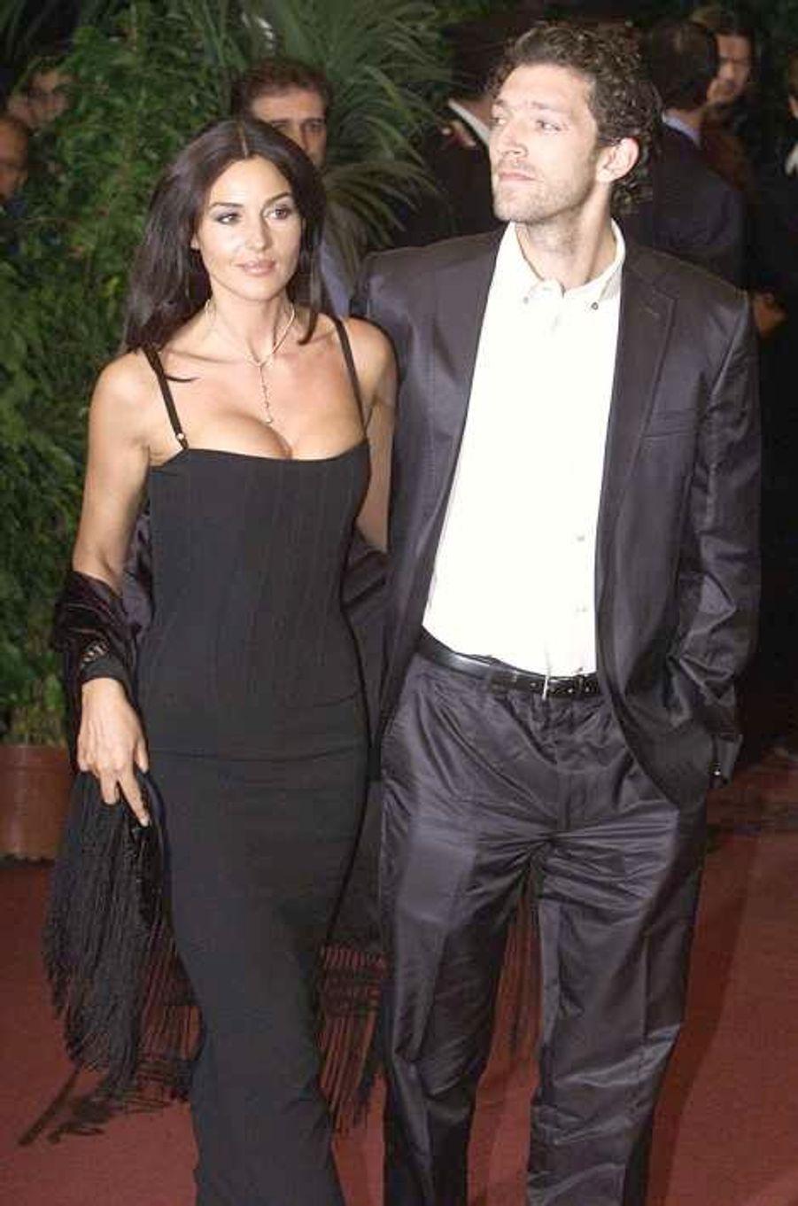 A la première de «Malena», en 2000 à Rome.