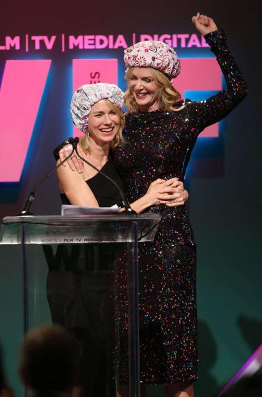Naomi Watts et Nicole Kidman à Los Angeles le 16 juin 2015