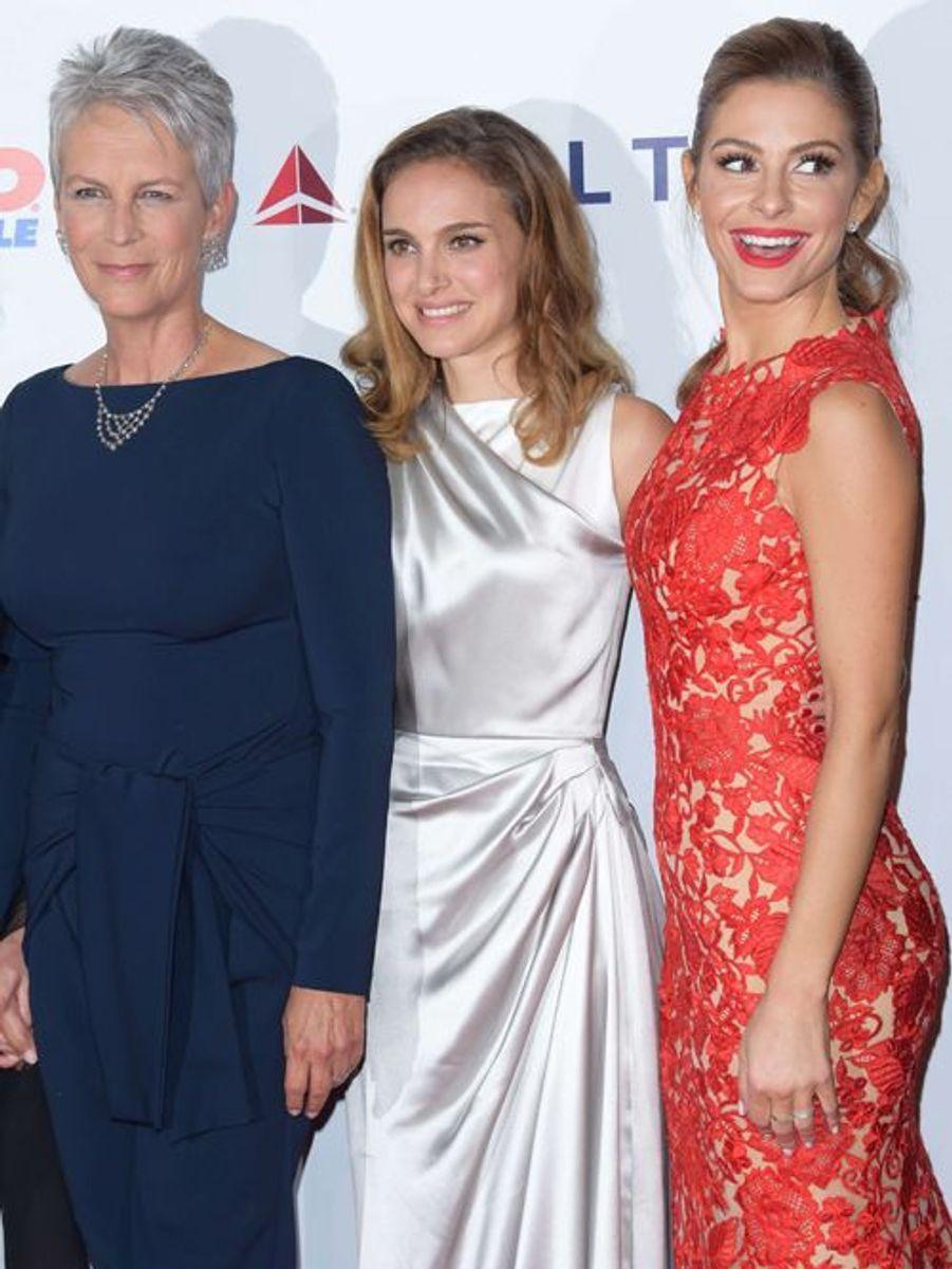 Jamie Lee Curtis, Natalie Portman et Maria Menounos