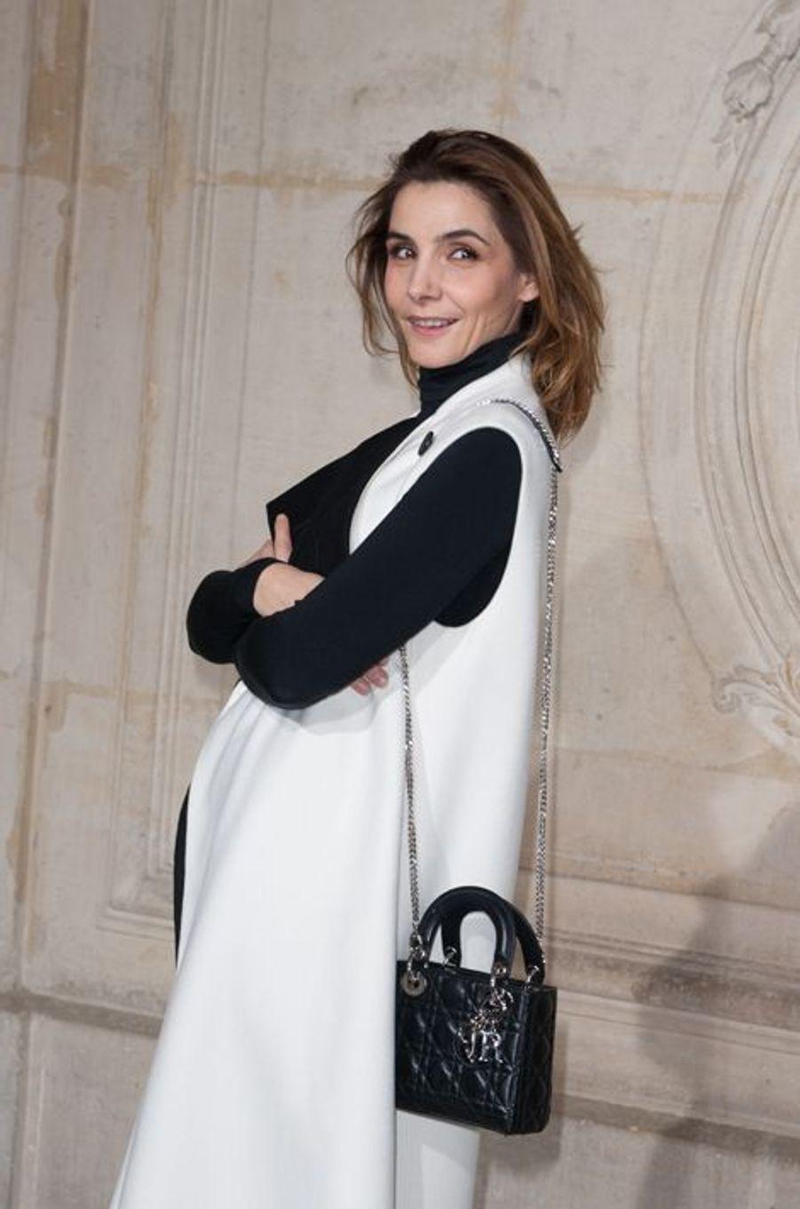 Clotilde Courau à Paris le 26 janvier 2015