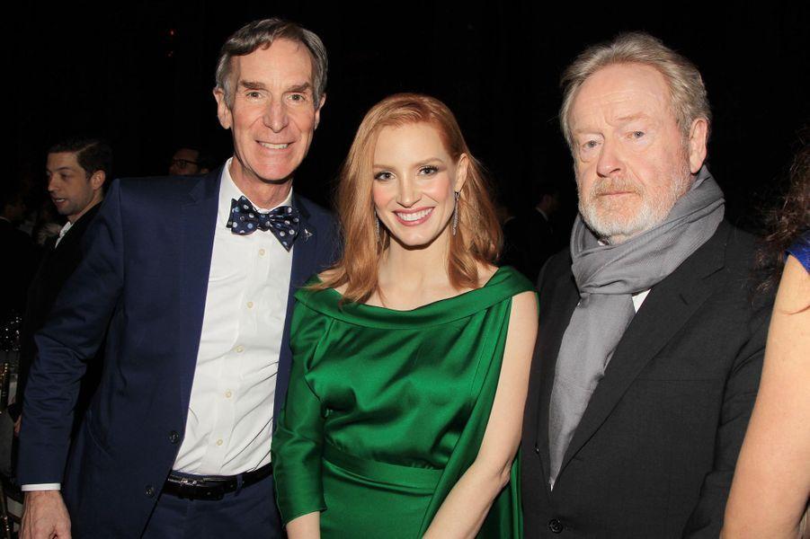 Bill Nye, Jessica Chastain et Ridley Scott
