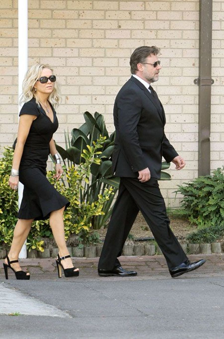Russell Crowe et Danielle Spencer