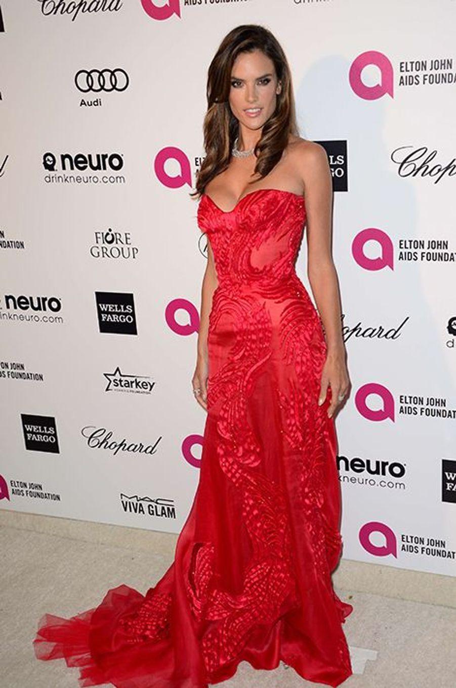 Alessandra Ambrosio à Los Angeles le 22 février 2015