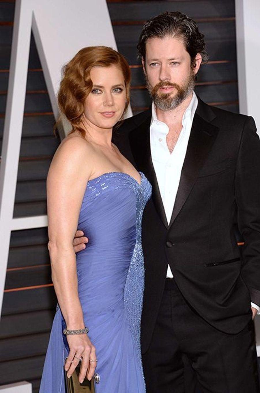 Amy Adams et Darren Le Gallo à Los Angeles le 22 février 2015