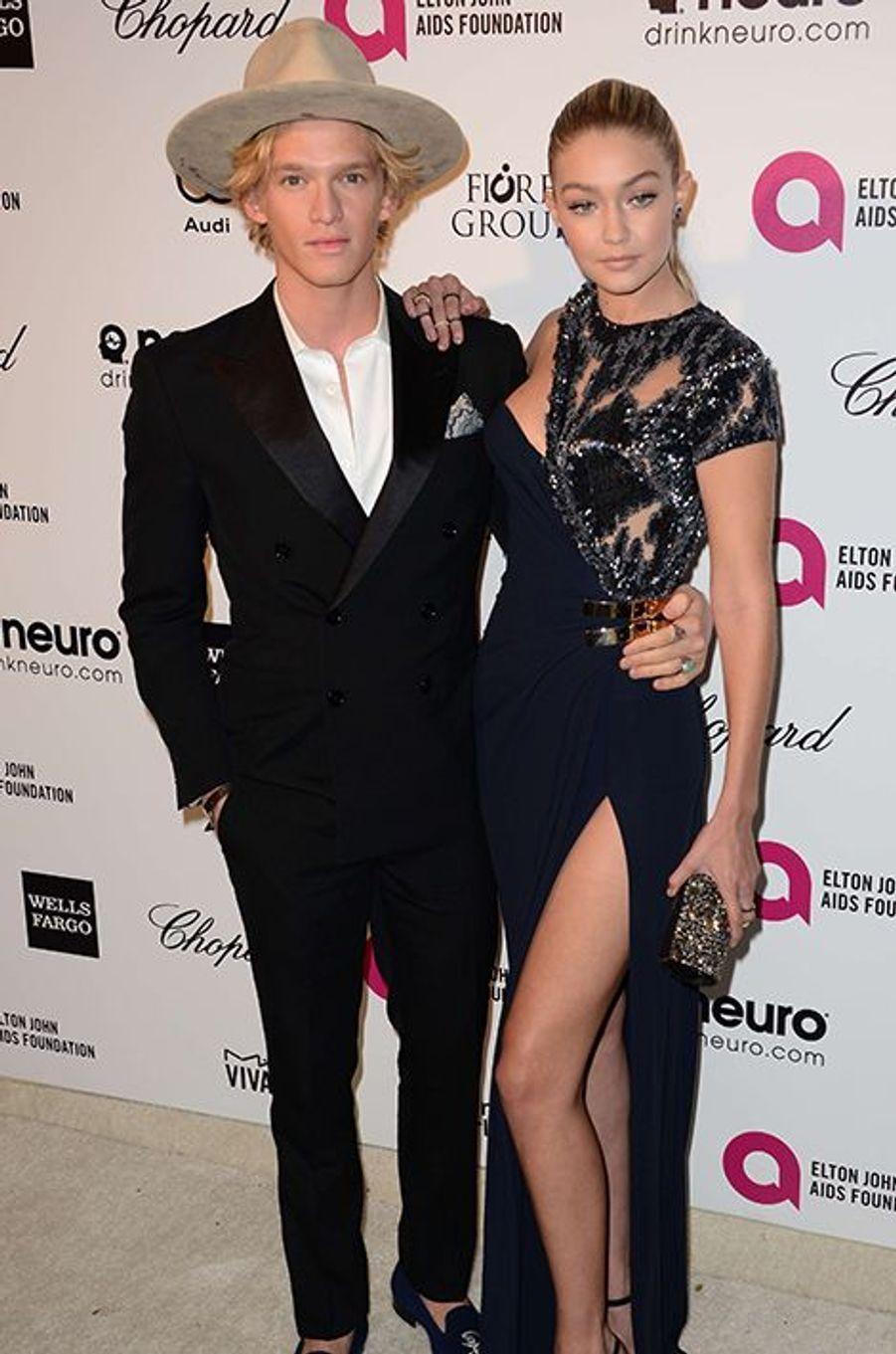 Cody Simpson et Gigi Hadid à Los Angeles le 22 février 2015
