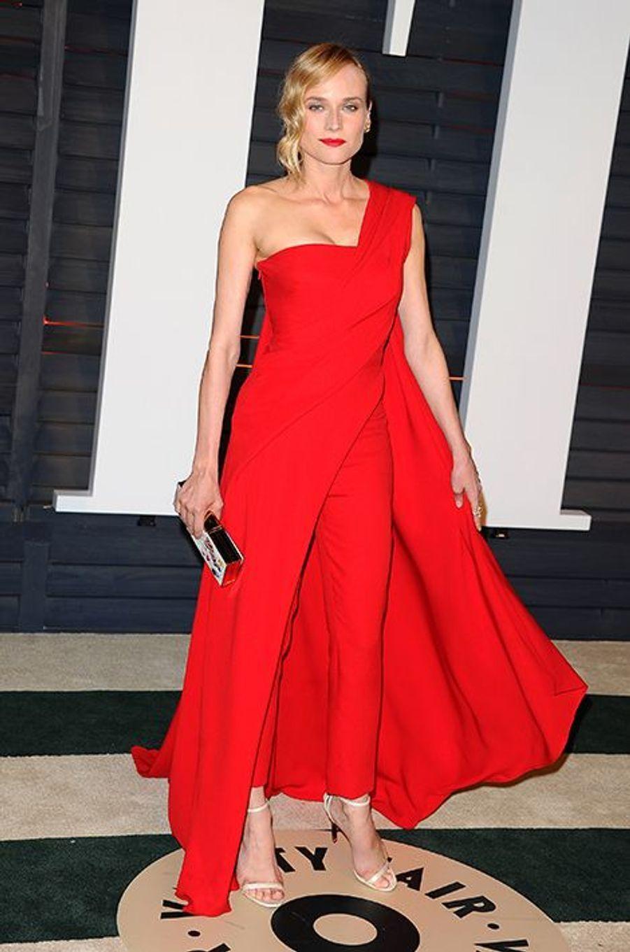 Diane Kruger à Los Angeles le 22 février 2015