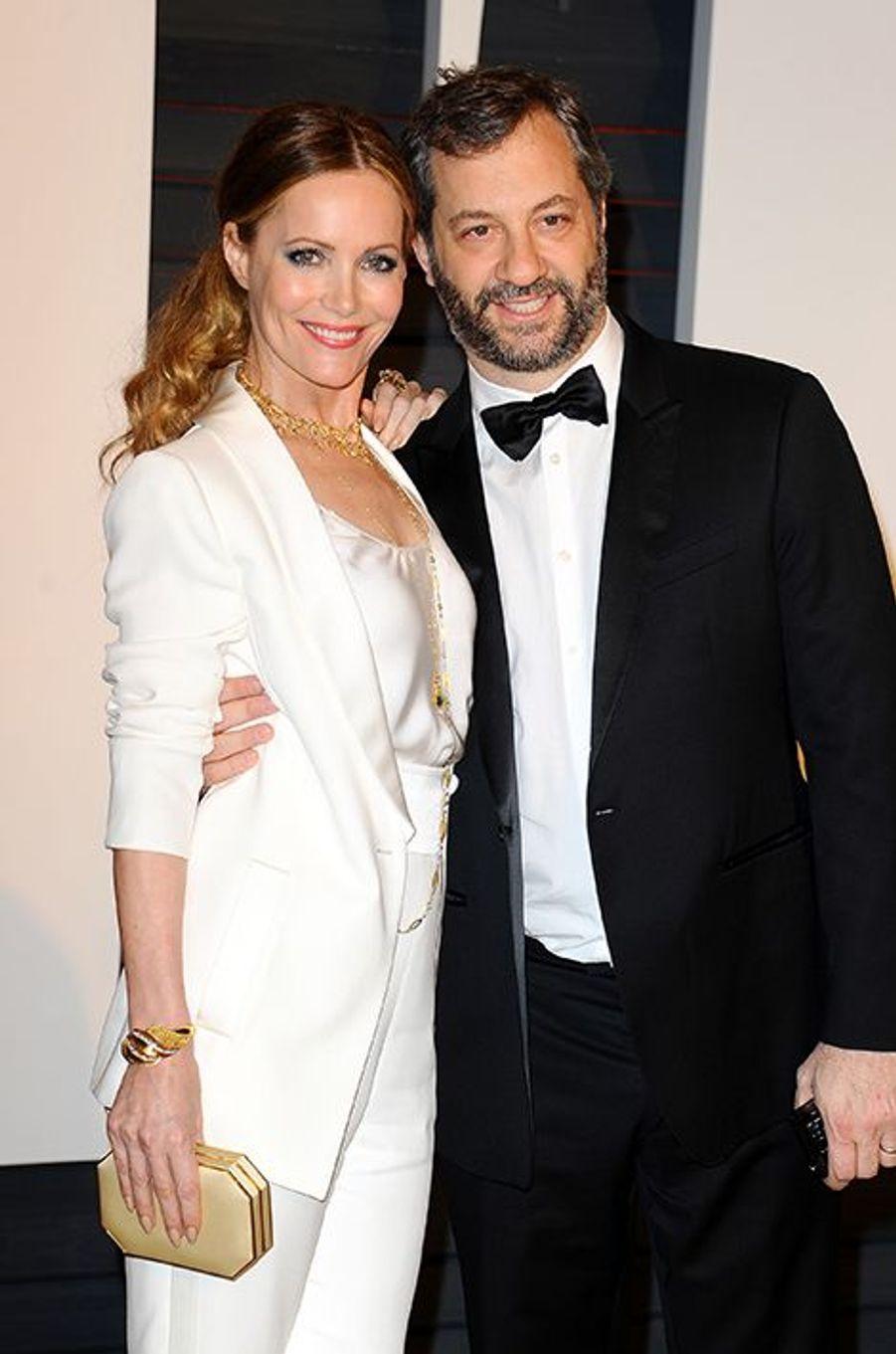 Leslie Mann et Judd Apatow à Los Angeles le 22 février 2015
