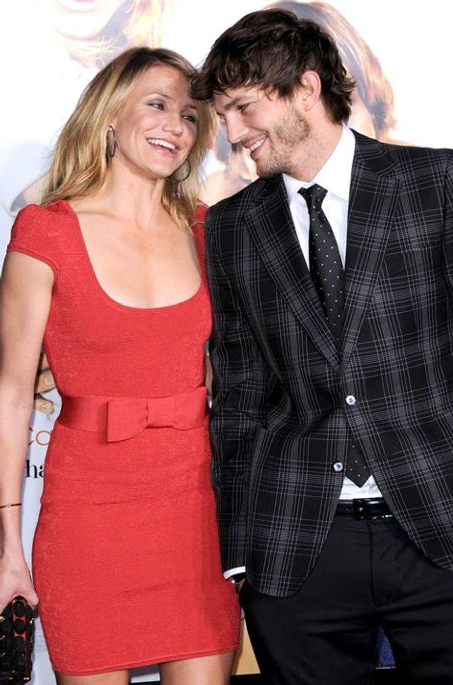Stars incontournables du divertissement made in Hollywood, Cameron Diaz et Ashton Kutcher ont partagé l'affiche de «Jackpot» en 2008 avant de se retrouver dans la comédie musicale «Annie», sortie cette année sur grand écran.