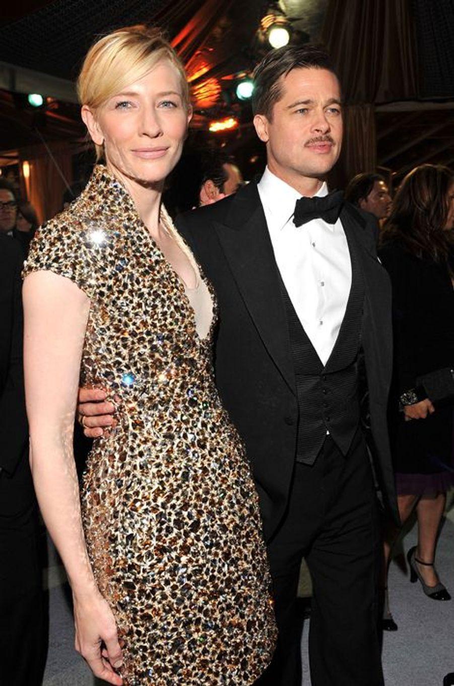 Impossible de ne pas se souvenir des couples formés à l'écran par l'égérie Giorgio Armani et l'époux d'Angie. Les deux acteurs s'étaient retrouvés une première fois dans «Babel» en 2006 avant de collaborer ensemble dans «L'Étrange Histoire de Benjamin Button», sorti deux ans plus tard.