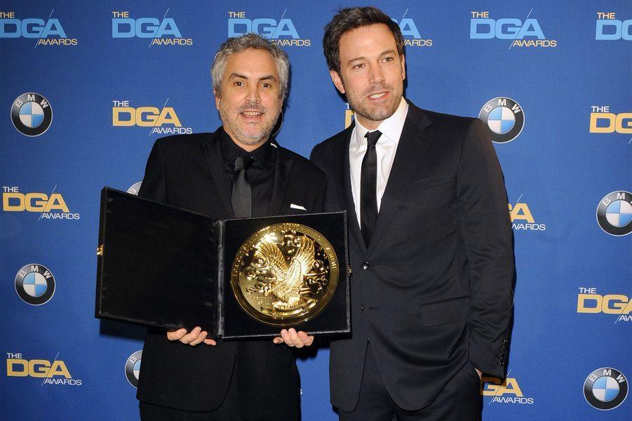 "Ben Affleck et Alfonso Cuaron (""Gravity"")"