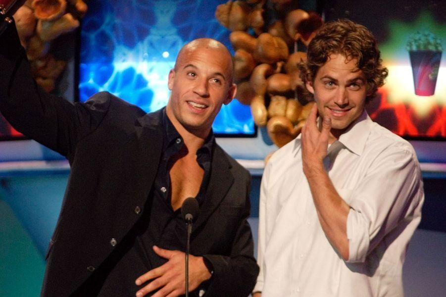 Avec Vin Diesel en 2002
