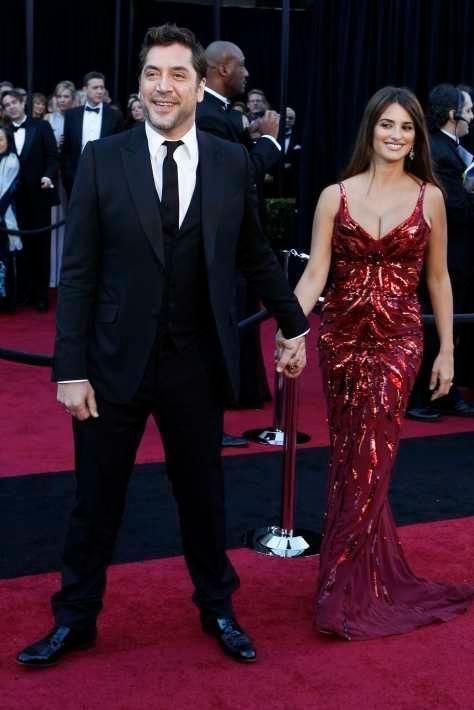 Aux 83e Academy Awards à Hollywood, en février 2011. Le petit Leo est né le 22 janvier 2011 à Los Angeles.