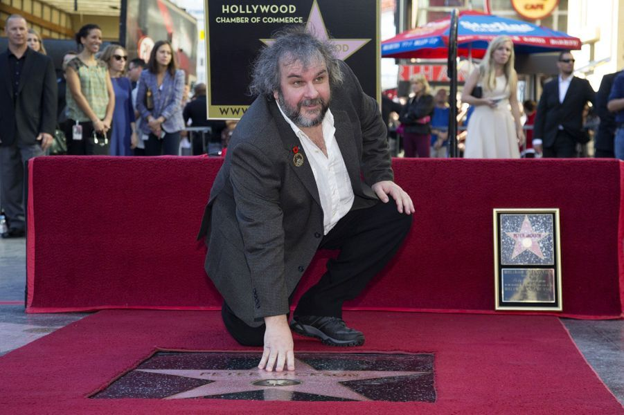 Peter Jackson a inauguré son étoile à Hollywood