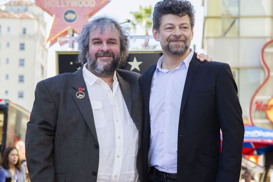 Peter Jackson et Andy Serkis