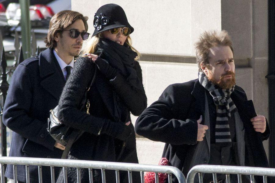 Les comédiens Justin Long et Sam Rockwell étaient présents.