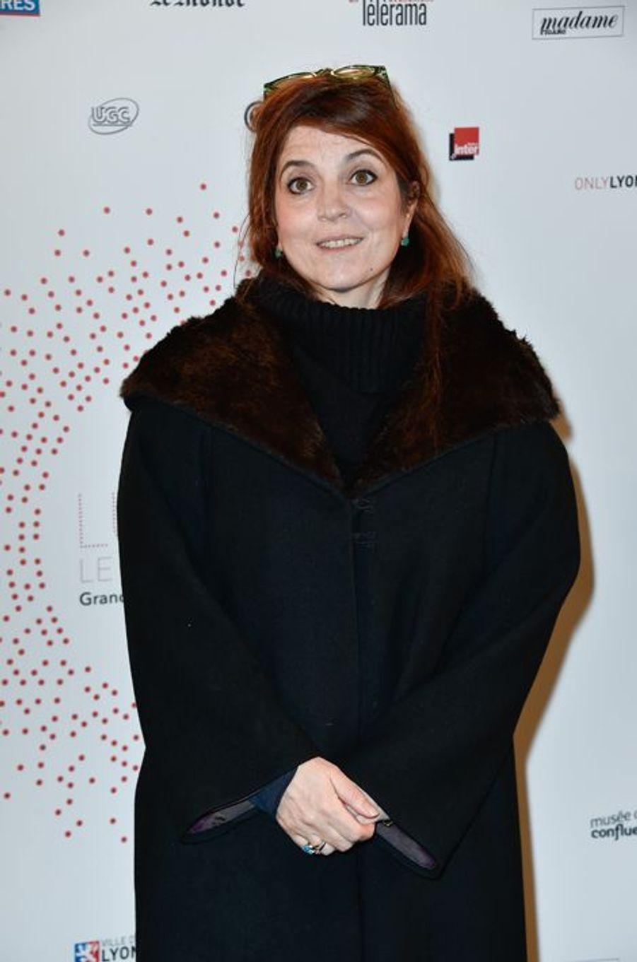 Agnès Jaoui à Paris le 26 mars 2015
