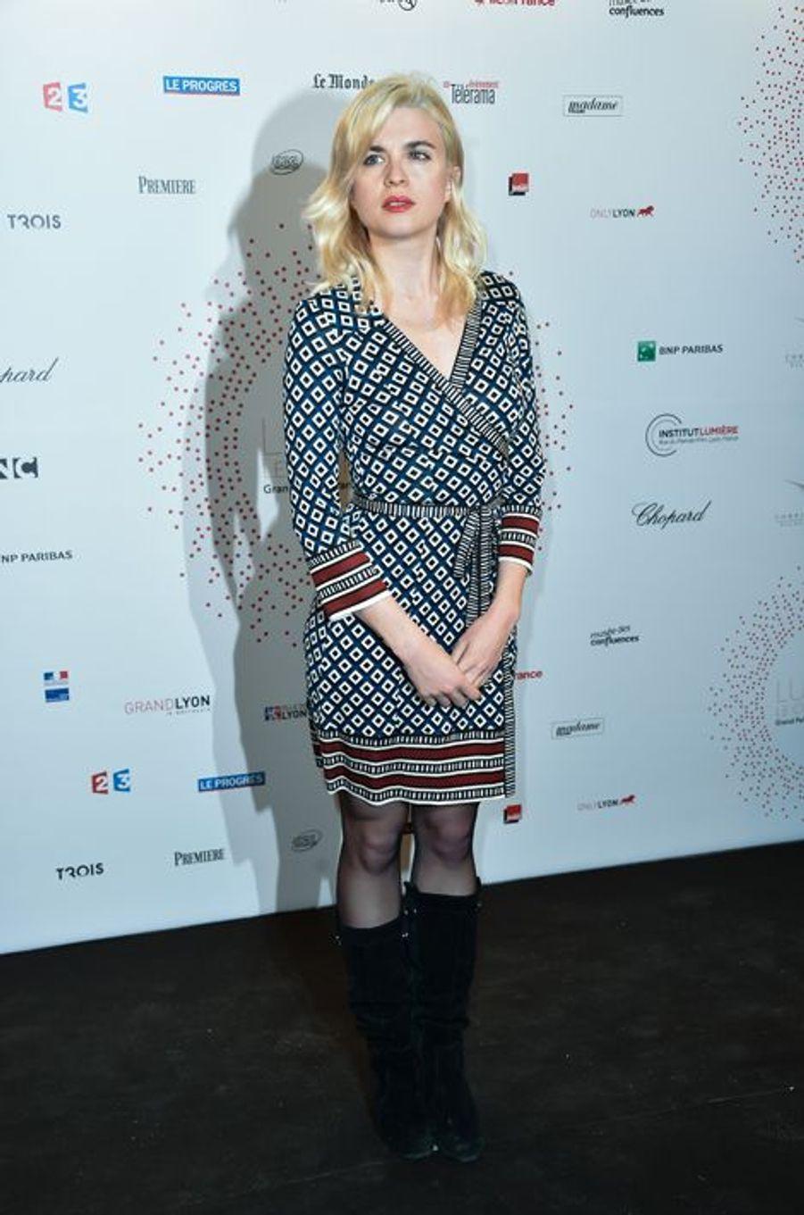 Cécile Cassel à Paris le 26 mars 2015