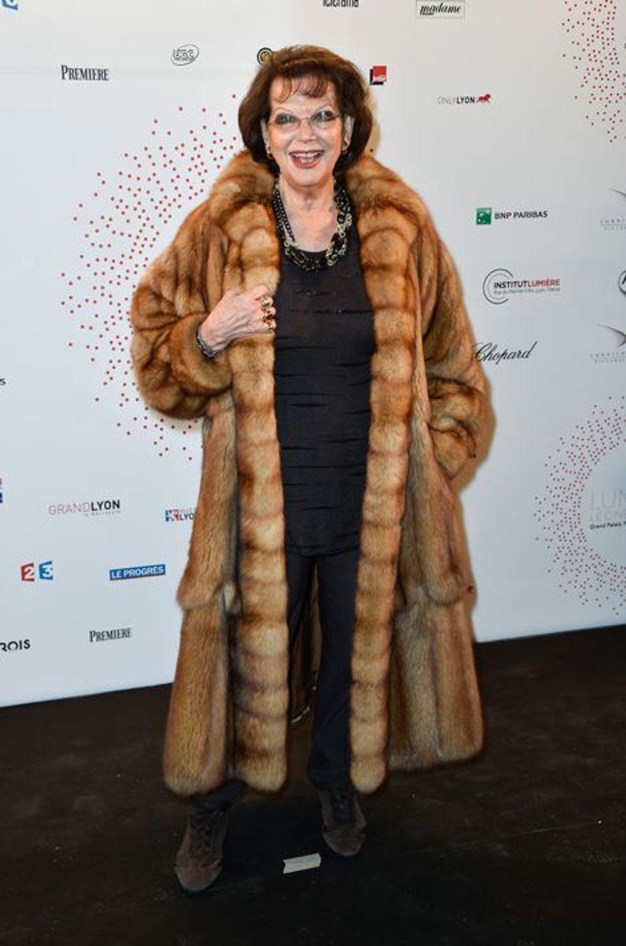 Claudia Cardinale à Paris le 26 mars 2015