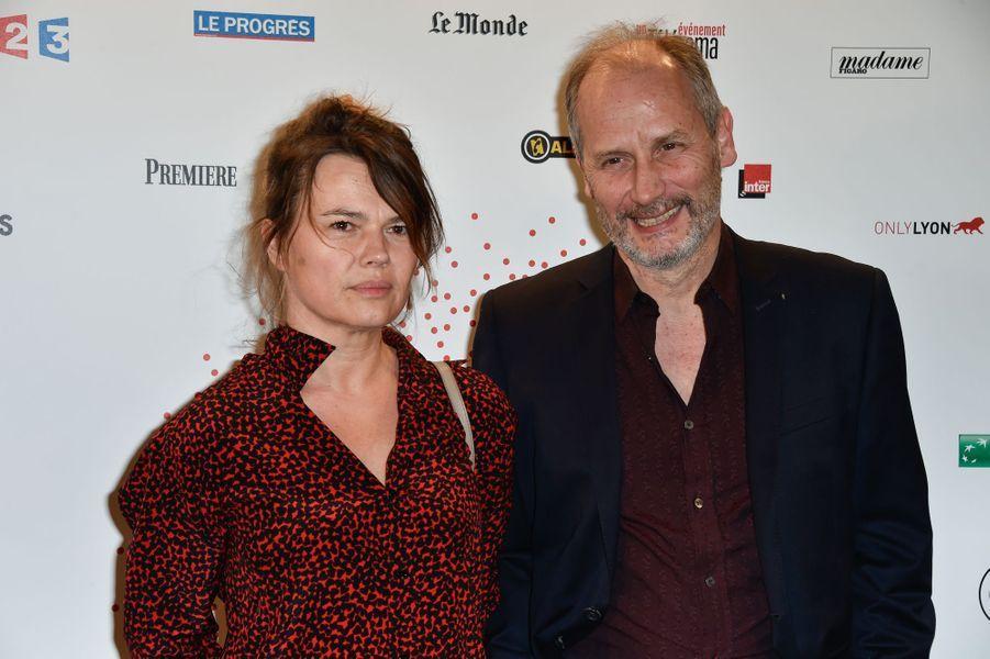 Kristina Larsen et Hippolyte Girardot à Paris le 26 mars 2015