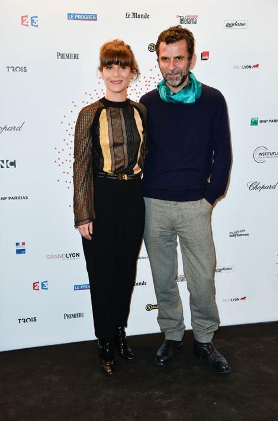 Marina Foïs et Eric Lartigau à Paris le 26 mars 2015