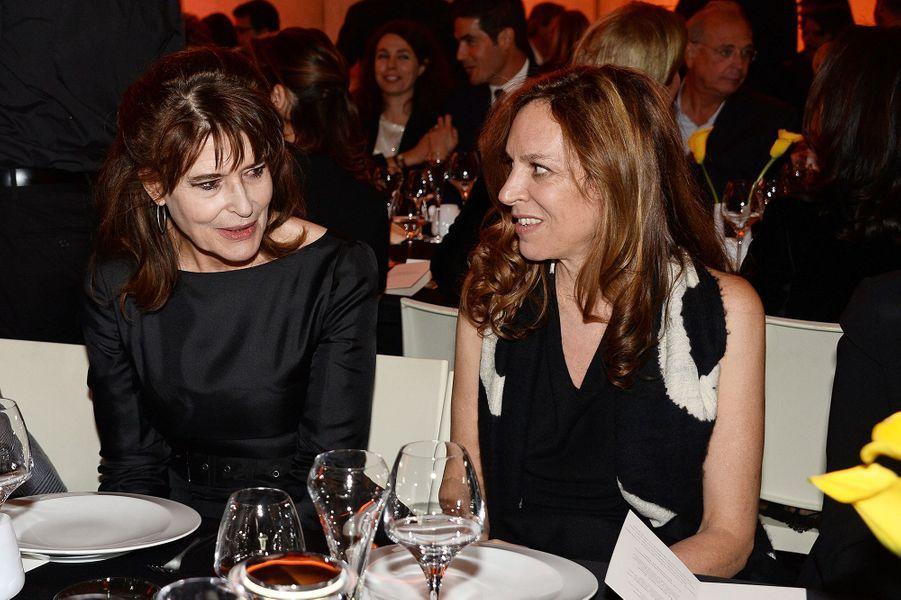 Fanny Ardant et Daphna Kastner