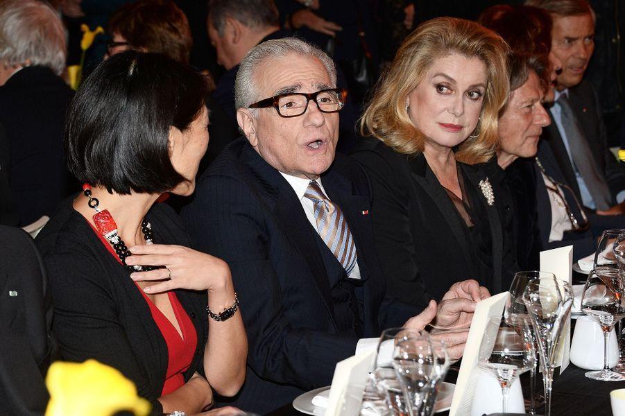 Fleur Pellerin, Martin Scorsese et Catherine Deneuve