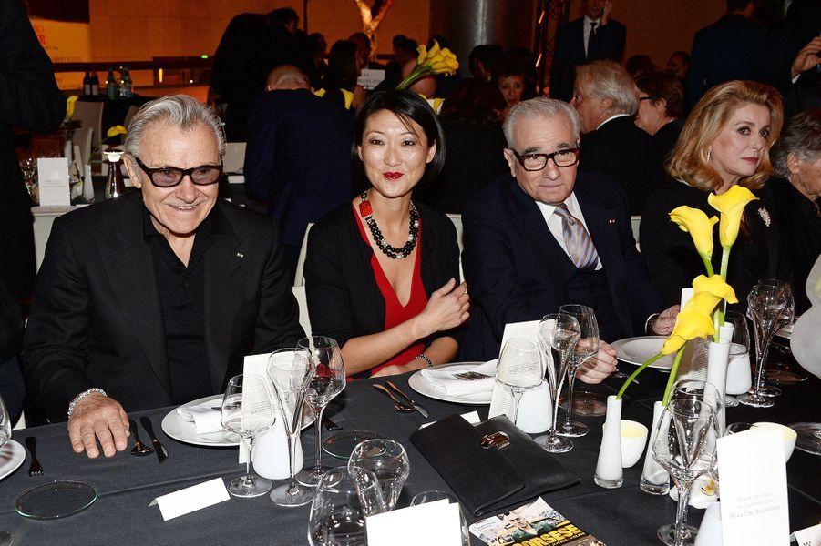 Harvey Keitel, Fleur Pellerin, Martin Scorsese et Catherine Deneuve