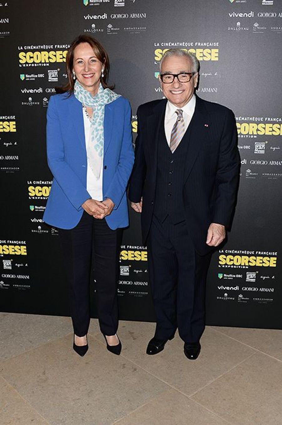 Ségolène Royal et Martin Scorsese
