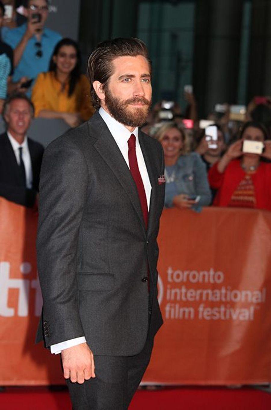 Jake Gyllenhaal à Toronto le 10 septembre 2015