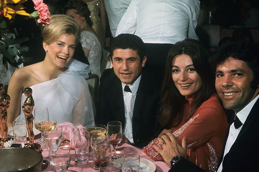 Claude Lelouch à la cérémonie des Oscars 1967