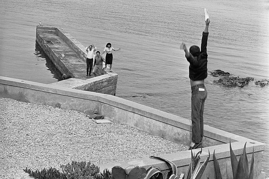 Claude Lelouch apprend qu'il vient de remporter la Palme d'Or, 20 mai 1966