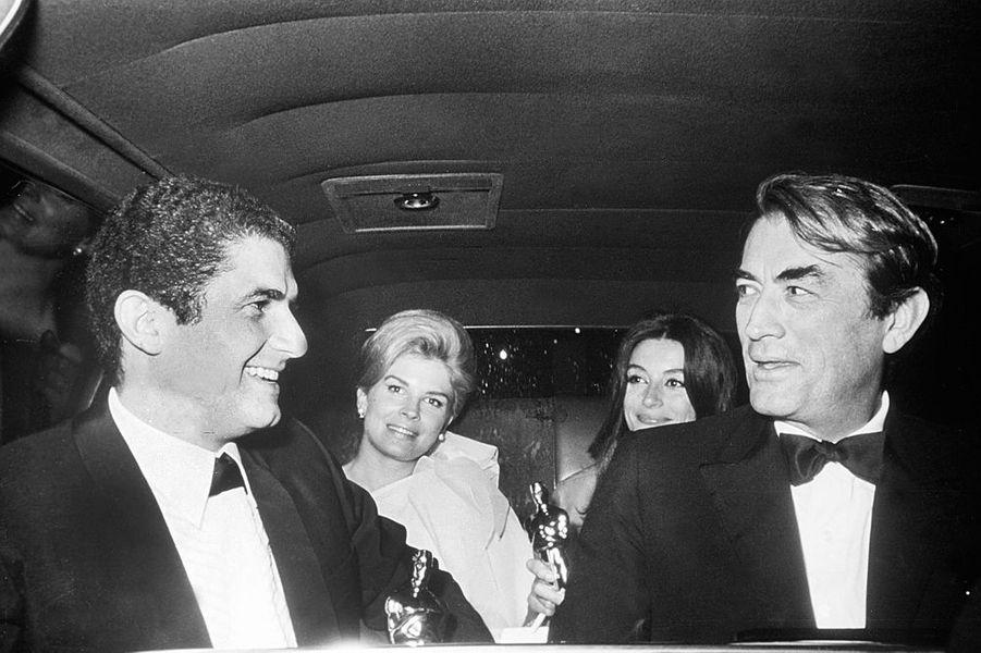 Claude Lelouch se rend à la cérémonie des Oscars, 1967