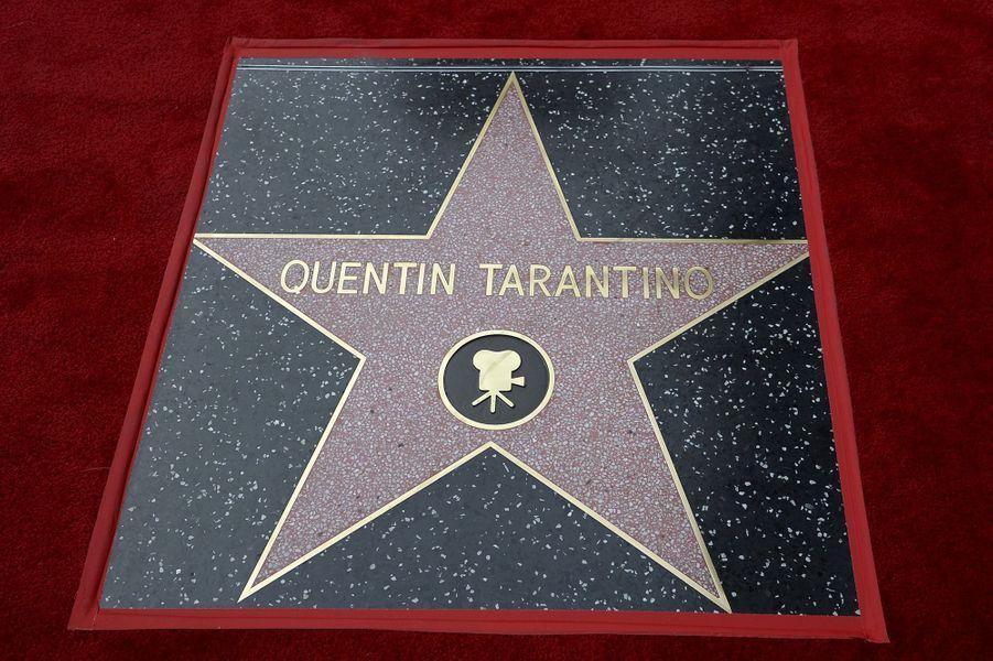 Quentin Tarantino reçoit son étoile