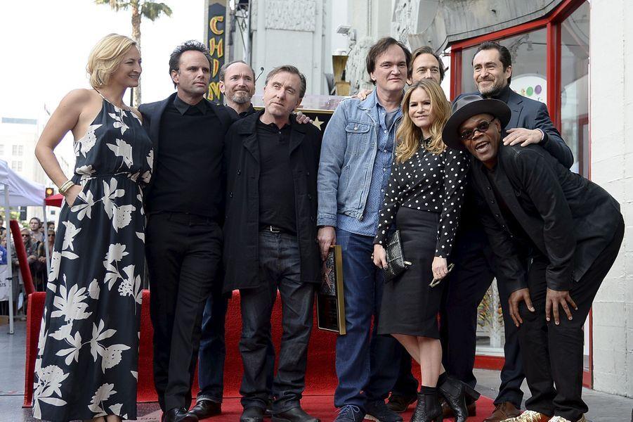 Zoe Bell, Walton Goggins, James Parks, Tim Roth, Quentin Tarantino, Craig Stark, Jennifer Jason Leigh, Demian Bichir et Samuel L. Jackson