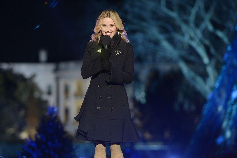 Reese Witherspoon à la Maison Blanche, le 3 décembre 2015